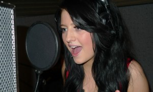 amelia sings a stunning studio version at her recording experience