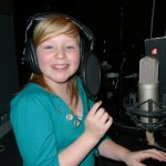 Chelle has a go at the recording studio recording experience